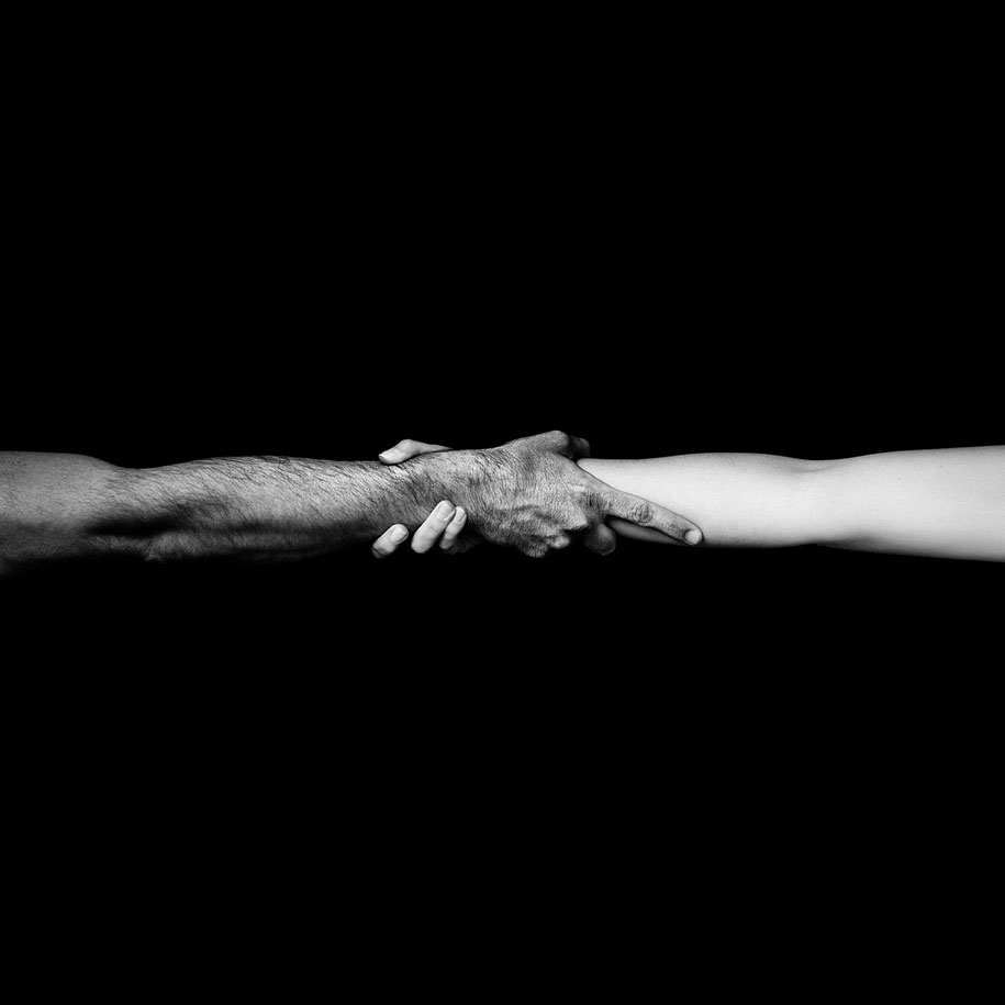Simply black white benoit courti cogtography - Tapisserie rayee noir et blanc ...